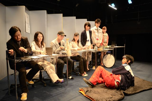 2013年1月 ▶『ナカフラ演劇展』国内巡回▶京都・大阪/特別講義